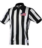"2.25"" Stripe Short Sleeve Sublimated Football Shirt"