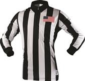"Sublimated 2.25"" Long Sleeve Officials Shirt with Placket"